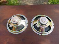 pair of Sharp speakers 8 inch 50 w