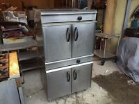 COMMERCIAL CATERING TWIN GAS OVEN FAST FOOD BAKERY BBQ KEBAB RESTAURANT KITCHEN SHOP