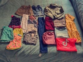 Girls clothes 8 to 9 years