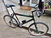 """Mountain Bike. Good working order Bull Horn bars. 19"""" Frame"""
