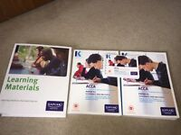 P1 Kaplan complete text, exam kit, pocket notes and learning materials all for £25.
