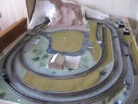 00 gauge model railway layout and everything that goes with it