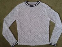 Marks & Spencers lacey top