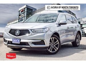 2017 Acura MDX Navi Accident Free| Winter Tire Included