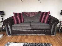 Sofa 3 seater + single seater chair