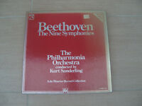 Beethoven The Nine Symphonies ~ Kurt Sanderling 8 Cassettes TCC SLS 5239 booklet