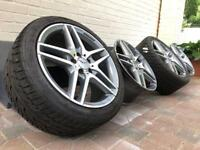 Mercedes wheels 18 inch AMG alloy staggered