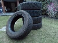 5 x General Grabber All Terrain Tyres - 225/65/R17 102H