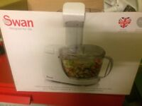Swan food processor used once
