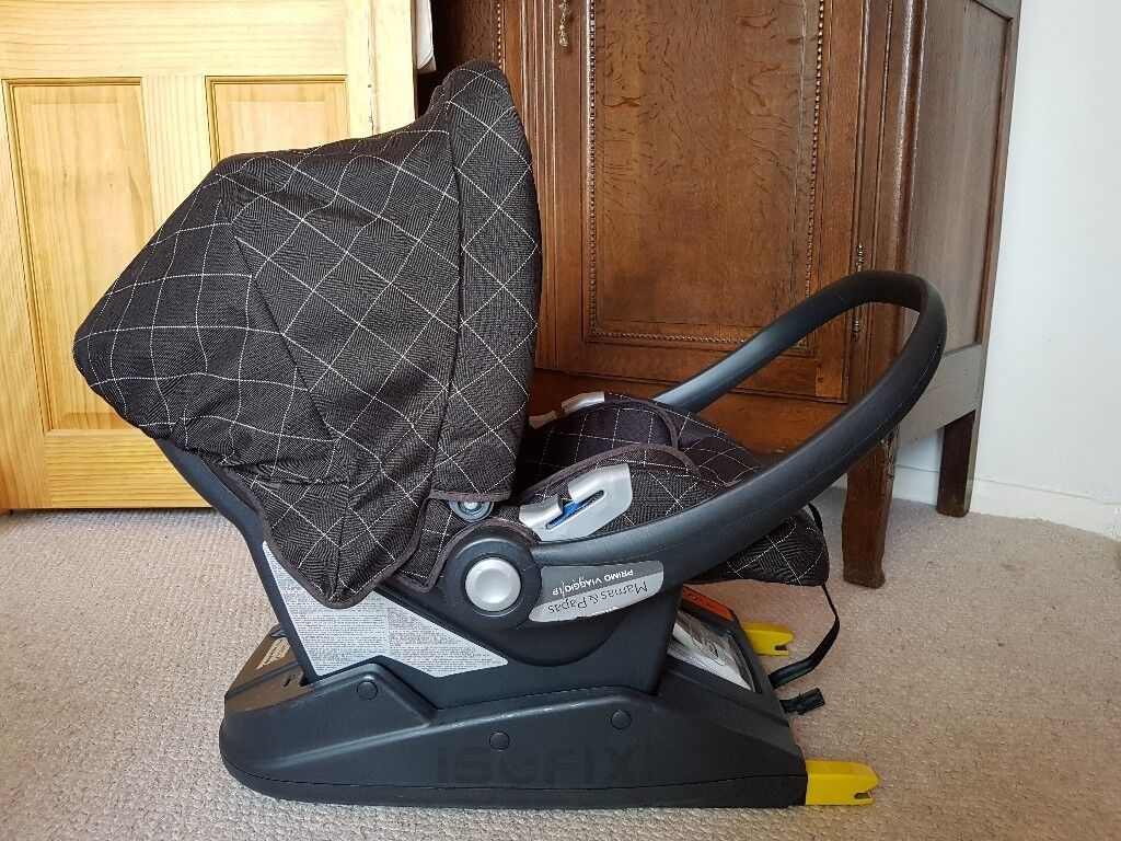 Mamas And Papas Primo Viaggio Baby Car Seat Isofix Base