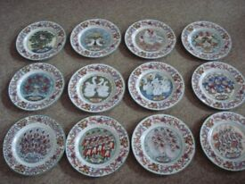 royal worcester the twelve days of christmas