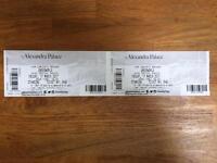 2x underworld tickets Alexandra palace march 17th