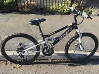 Boys mountain bike great condition, full suspension hardly used suit child 8 years up