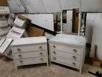 dresser and set of drawers