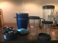 Nutribullet, Blue, Blender, Smoothie Maker, All accessories included