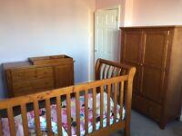 KUB WALDA children's / babies nursery furniture set - excellent condition