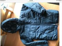 Nike reversible blue lightweight coat