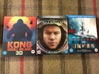 3D Blu Rays