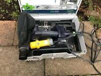 Festool planer good working condition 110v