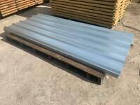 Galvanised 8Ft Box Profile Roof Sheets ~ New