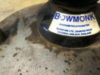 Old style MOT brake tester