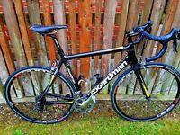 Boardman Pro Carbon 2014 for Sale. 56 cm Carbon Frame Road Bike.
