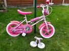 "Childs 12"" bike with stabilisers"