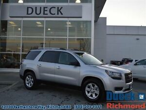 2016 GMC Acadia SLE2  LOW Mileage - Accident Free - ONE Owner