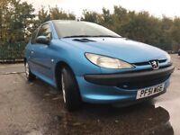 Peugeot 206 - Ideal first car - Cheap insurance