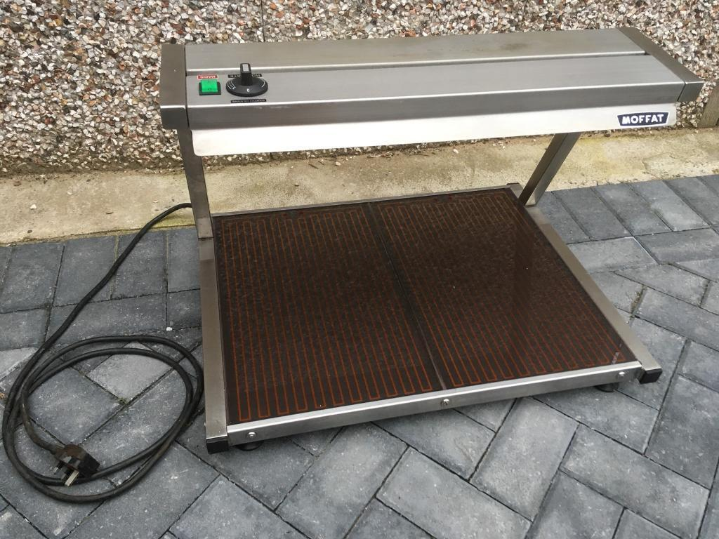 Moffat Commercial display hot plate