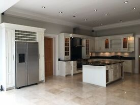 BESPOKE KITCHEN RRP: £60k - Used - Wooden Cabinets & Granite Tops - Maytag / Neff / Bosch Appliances