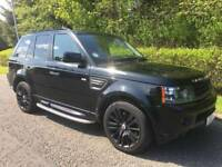 10 Reg Range Rover Sport HSE 3.0 Auto Immaculate as ML350 Freelander Vogue Land Cruiser Showgun