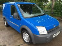 05 FORD TRANSIT CONNECT PANEL VAN 1.7 DIESEL ROOF BARS TOW BAR PLY LINED IDEAL BUILDER ODD JOB MAN