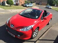 Beautiful Red Peugeot 307