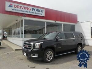 2017 GMC Yukon XL SLT 8 Passenger 4X4, Backup Camera, 5.3L Gas