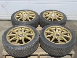 BBS Wheels Rims 17x7.5 +53 Oem BBS 17inch 5X100 Subaru Wrx 240sx Rims JDM BBS