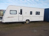 2007 Bailey Senator Virginia Fixed Island Bed 4 berth caravan with motor mover