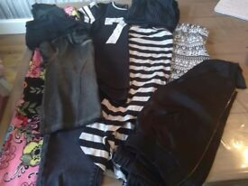 Bundle of girls clothing. Age 8, 9 and 10