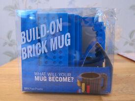 Build-on Brick Mug - Lego compatible