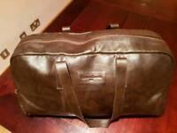 Leather Duffel Bag - Genuine Christian LaCroix Paris