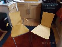 6 Ikea Assar Dining Chairs IKEA £25 ONO for Lot Need gone ASAP