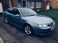 Saab 9-3 1.9 diesel 150hp. Big sat nav, cruise, leather saloon, 17 inch wheels, parking sensors.