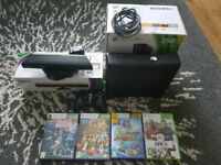 Xbox 360 (250gb) with Kinect sensor and games