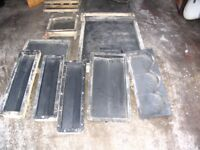 York Paving Moulds and coping moulds (19 total)