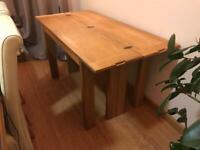 Laura Ashley folding table. 140 x 70 cm. Hardy used.