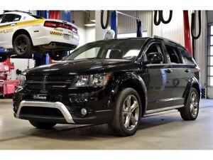 2017 Dodge Journey CROSSROAD * AWD * 7 PASS * CUIR * TOIT* DVD *