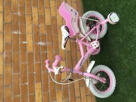 Girls cupcake bike