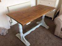 Farmhouse Dining Table - Solid Wood - Perfect Condition