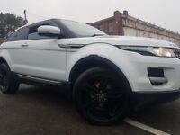 Range rover evoque pure tec coupe white 2.2 automatic