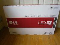 32 inch LG tv brandnew